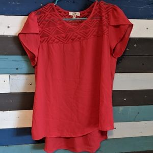 Meraki Red Shirt